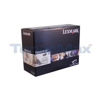 LEXMARK T654 TONER CART BLACK RP 36K